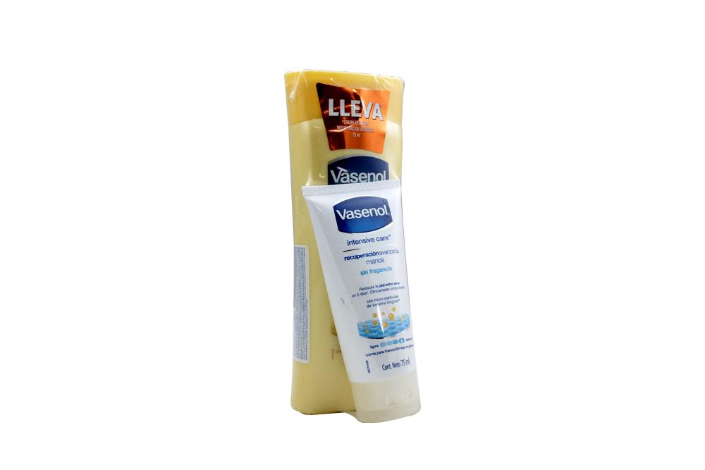 Crema Corporal Vasenol Recuperación Esencial Botella Con 400 mL