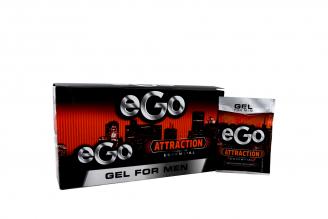 Gel Ego For Men Attraction Caja Con 15 Sobres Con 27 mL C/U