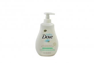 Jabón Líquido Dove Baby Humectación Sensible Frasco Con 400 mL