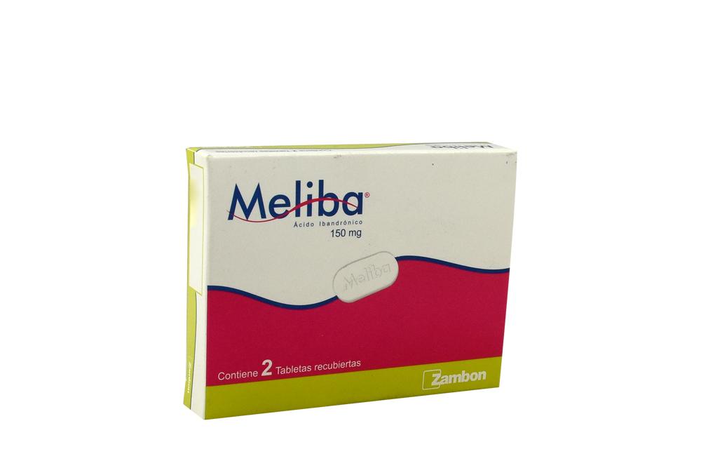 Meliba 150 mg Caja Con 2 Tabletas Rx Rx4