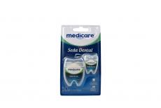 Seda Dental Medicare Encerada 50 Metros + 15 Metros Empaque Con 1 Unidad