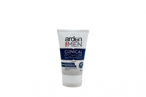 Desodorante Arden For Men Clinical Power Crema Tubo Con 40 g