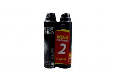 Desodorante Arden For Men 48H Silver Empaque Con 2 Frascos Con 165 mL C/U