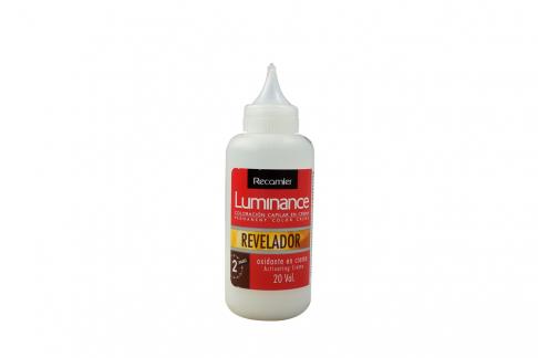 Revelador Luminance Oxidante En Crema 20 Vol. Frasco Con 60 mL