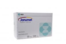 Janumet 50 / 500 mg Caja Con 56 Tabletas Recubiertas Rx4
