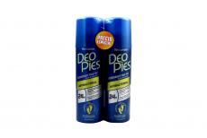 Deo Pies Antibacterial Empaque Con 2 Frascos Con 260 mL