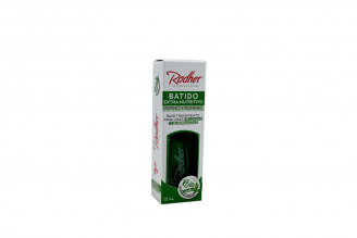 Base Bio-Rodher Batido Extra Nutritivo Caja Frasco Con 12 mL