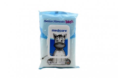 Pañitos Húmedos Medicare Baby Empaque Con 50 Unidades