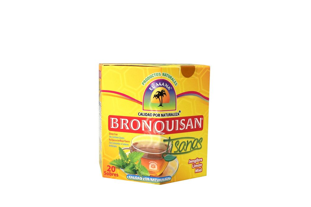 Bronquisan Tisanas Caja Con 20 Sobres