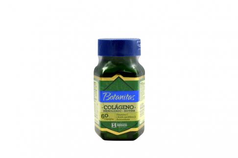 Colágeno Hidrolizado + Biotina Botanitas Frasco Con 60 Cápsulas