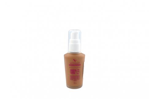 Maquillaje Liquido Vogue Efecto Total 6 Canela Frasco Con 30 g