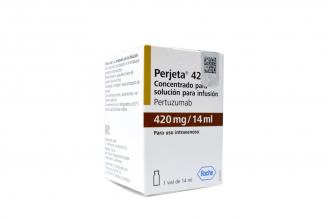 Perjeta 420 mg Caja Con 1 Vial Con 14 mL Rx1 Rx3 Rx4