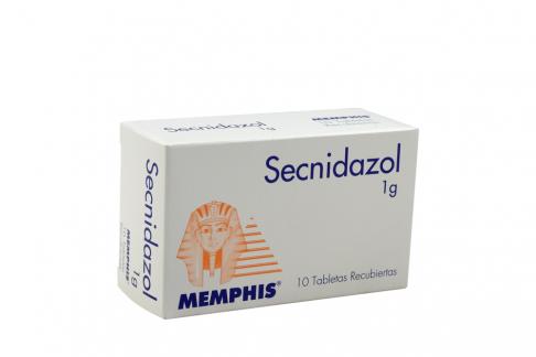 Secnidazol 1 g Caja Con 10 Tabletas Recubiertas Rx Rx2