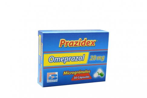 Prazidex 20 mg Caja Con 30 Cápsulas Rx Rx4