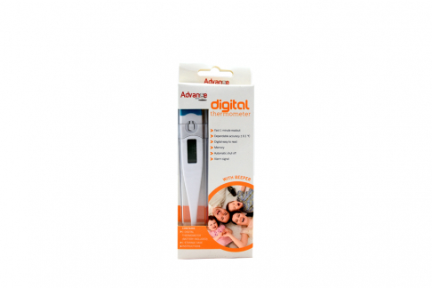 Termómetro Digital Basic Adulto Caja con 1 Unidad