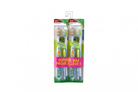 Cepillo Dental Soft GUM Supreme Max – Pague 3 Lleve 4
