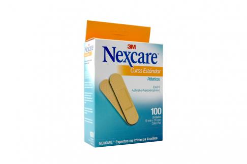 Curas Estandar 3M Nexcare Caja Con 100 Unidades