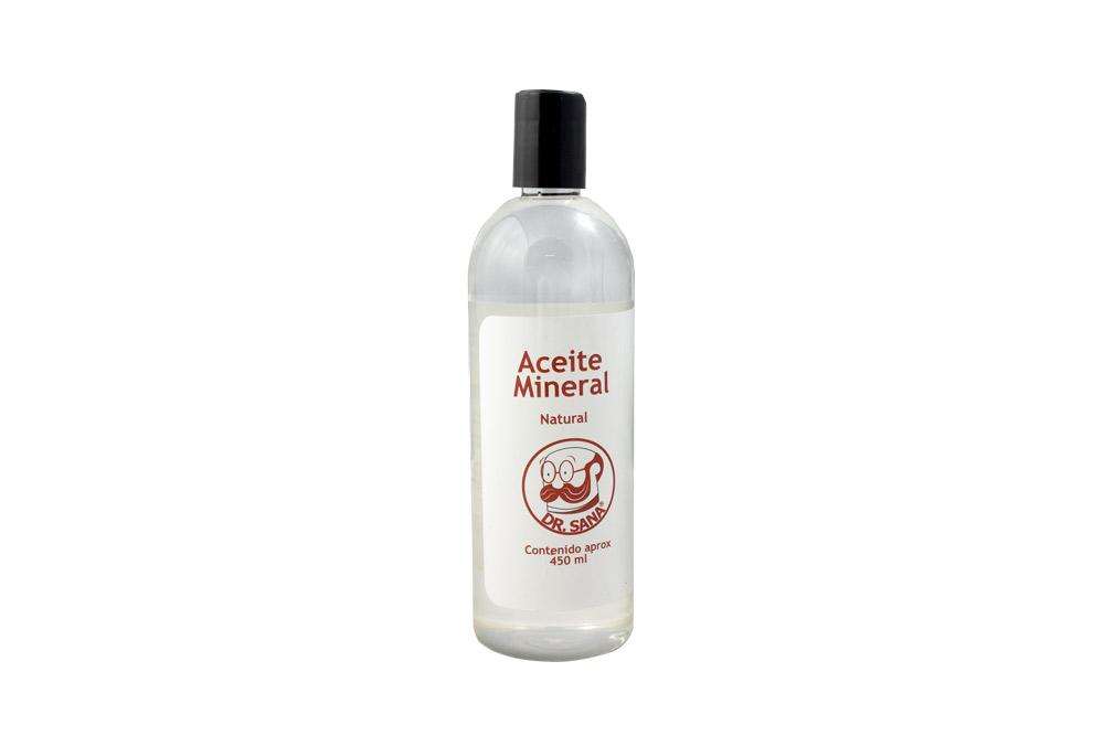 Aceite Mineral Natural Frasco Con 450 mL