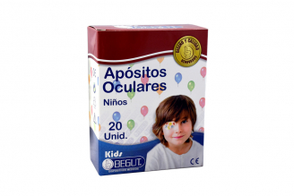 Apósito Ocular Begut Niños Caja Con 20 Unidades