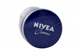 Crema Hidratante Nivea Empaque Con 12 Latas Con 30 mL C/U