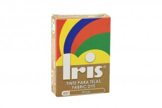 Iris Tinte Para Telas Caja Con Bolsa Con 9 g – Tono Número 37 Khaki