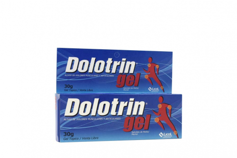Dolotrin Gel Tópico Caja Con Tubo Con 30 g