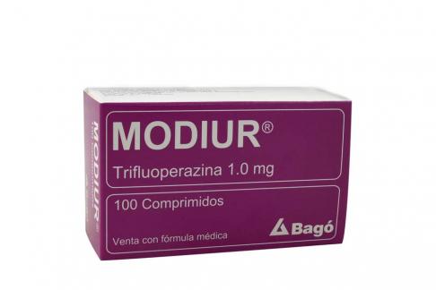 Modiur 1 mg Caja Con 100 Comprimidos Rx4