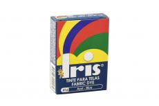 Iris Tinte Para Telas Caja Con Bolsa Con 9 g – Tono Número 16 Azul