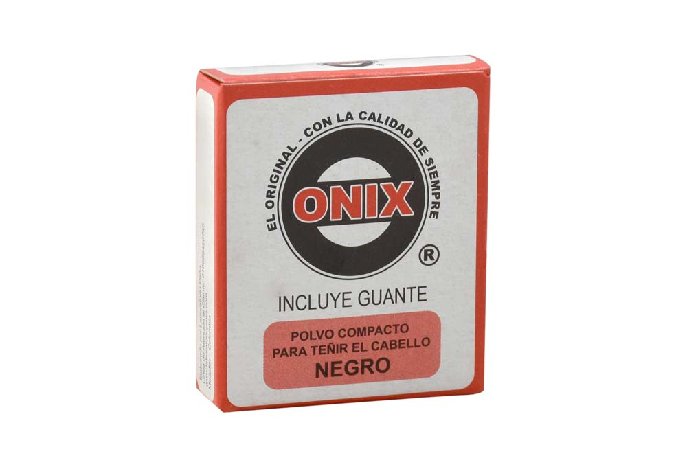 Polvo Compacto Onix Para Teñir El Cabello Caja Con 4 Unidades