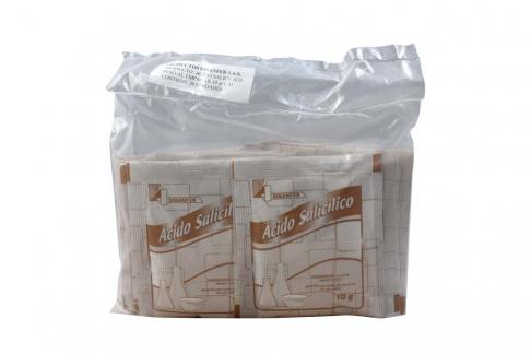Ácido Salicílico Disanfer Empaque Con 20 Sobres Con 10 gr C/U