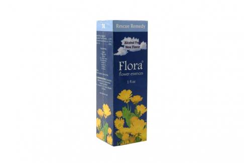 Esencia Flora Rescate Caja Con Frasco Con 30 mL