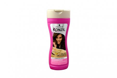 Shampoo Konzil Óleo De Coco Reparación Frasco Con 375 mL