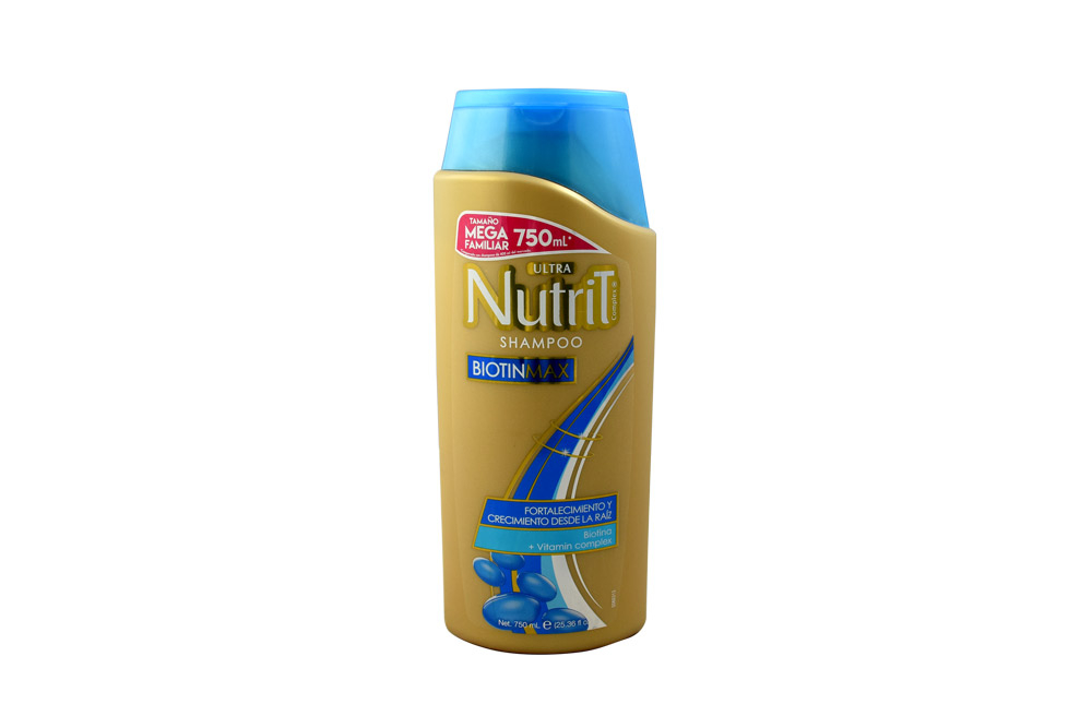 Shampoo Ultra Nutrit BiotinMax Frasco con 750 mL