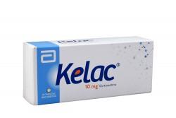 Kelac 10 mg Caja Con 30 Tabletas Recubiertas Rx