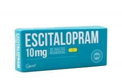 Escitalopram 10 Mg Caja Con 30 Tabletas Rx