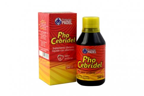 PhoCebridel Fresa Frasco Con 240 mL