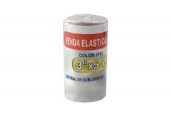 """Venda Elástica Color Piel Begut 3"""" X 5 Yardas Empaque Con 1 Unidad"""