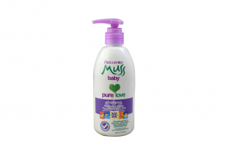 Shampoo Muss Baby Romero Y Seda Frasco Con 400 mL