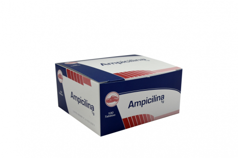 Ampicilina 1g Caja Con 100 Tabletas Rx Rx2