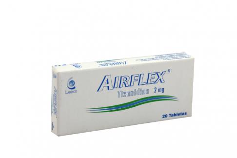 Airflex® 2 mg Caja Con 20 Tabletas Rx