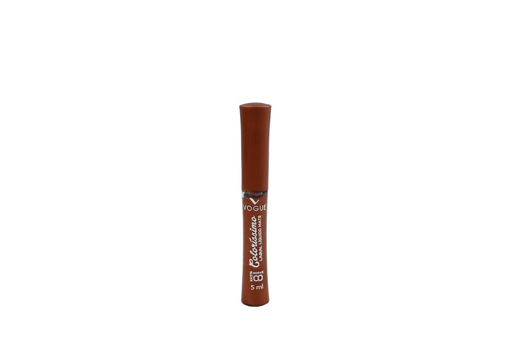 Colorissimo Labial Líquido Mate Tubo Con 5 mL - Tono Moccachino