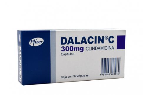 Dalacin C 300 mg Caja Con 32 Capsulas Rx Rx2