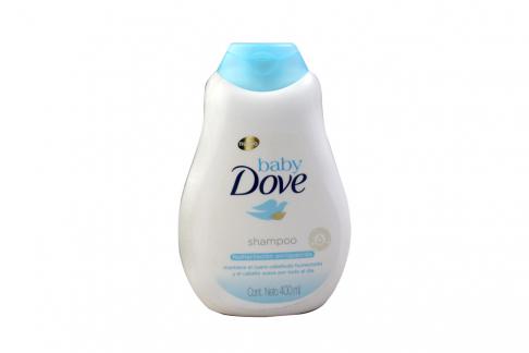 Baby Dove Shampoo Humectación Enriquecida Frasco Con 400 mL