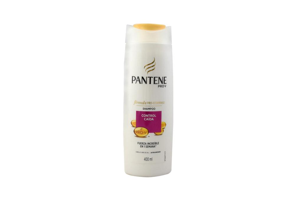 Shampoo Pantene Pro-V Frasco Con 400 mL - Control Caída