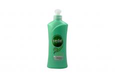 Crema Para Peinar Sedal Cabello Rizado Frasco Con 300 mL