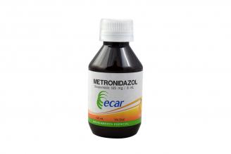 Metrodinazol 125 mg / 5 mL Frasco Con 120 mL Rx