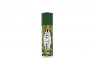 Protector Labial Health Lips Spf 6 Empaque Con Barra Con 5 g – Sabor Hierbabuena