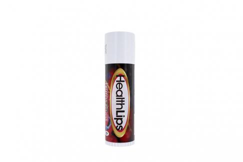Protector Labial Health Lips Spf 6 Empaque Con Barra Con 5 g – Sabor Frutos Rojos