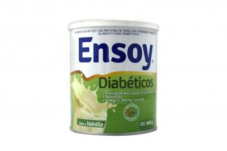 Ensoy Diabéticos Polvo Sabor Vainilla Tarro Con 400 g