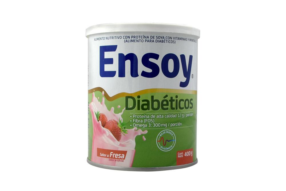 Ensoy Diabéticos Sabor A Fresa Tarro Con 400 g